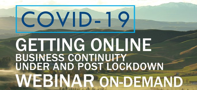Getting Online - Business continuity under and post lockdown