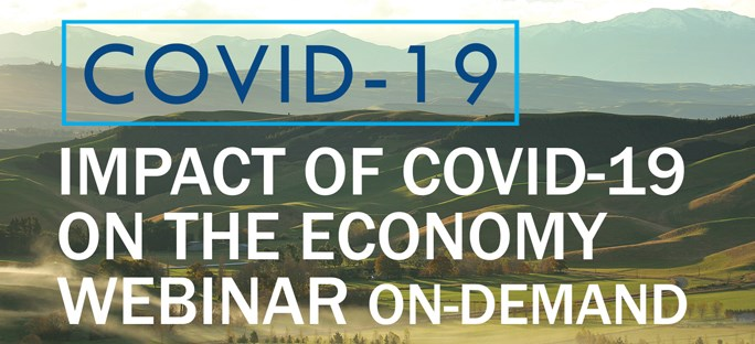 Impact of COVID-19 on the Economy - Nationally and in South Canterbury