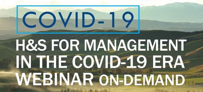 Health and Safety for Management in the COVID-19 Era
