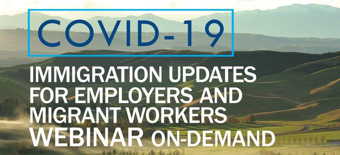 Immigration updates for employers and migrant workers